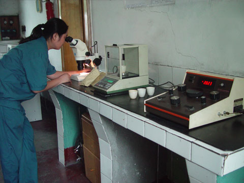 Physical Analysis of Raw Materials